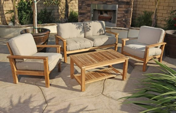 Easy Maintenance for Teak Garden Furniture
