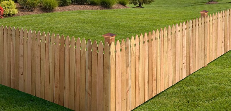 Carry Out A Makeover Of An Outdoor Area With A New Picket Fence